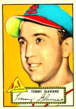 1952 Topps      056      Tommy Glaviano