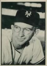 1953 Bowman Black and White     003      Bill Rigney