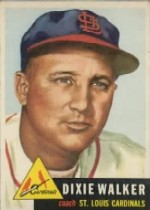 1953 Topps      190     Dixie Walker CO