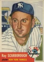 1953 Topps      213     Ray Scarborough