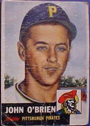 1953 Topps      223     Johnny O Brien  RC