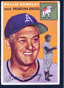 1954 Topps      143     Rollie Hemsley CO