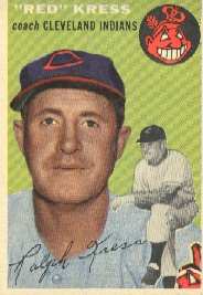 1954 Topps      160     Ralph Kress CO