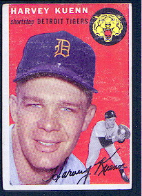 1954 Topps      025      Harvey Kuenn RC
