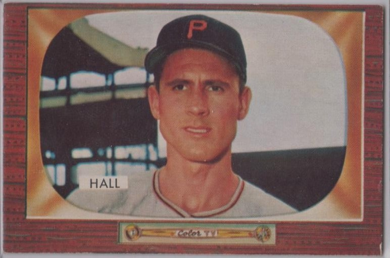 1955 Bowman     113     Bob Hall RC