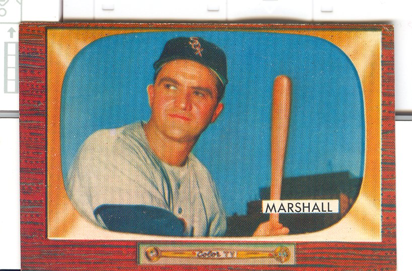 1955 Bowman     131     Willard Marshall