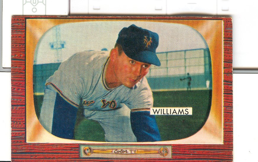 1955 Bowman     138     Davey Williams