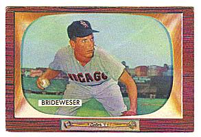 1955 Bowman     151     Jim Brideweser
