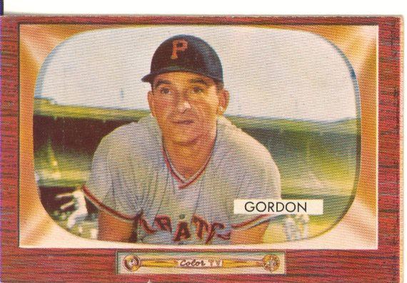 1955 Bowman     163     Sid Gordon