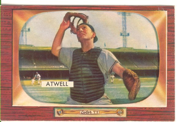 1955 Bowman     164     Toby Atwell
