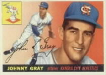 1955 Topps      101     Johnny Gray RC