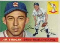 1955 Topps      014      Jim Finigan RC