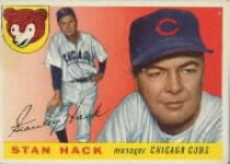 1955 Topps      006       Stan Hack MG RC