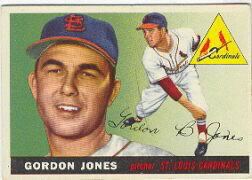 1955 Topps      078      Gordon Jones RC