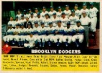 1956 Topps      166     Brooklyn Dodgers TC