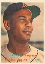 1957 Topps      006       Hector Lopez