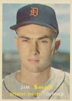 1957 Topps      033      Jim Small