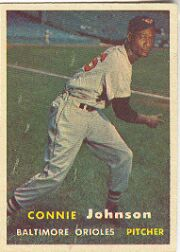 1957 Topps      043      Connie Johnson