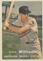 1957 Topps      059      Dick Williams