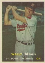 1957 Topps      065      Wally Moon