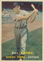1957 Topps      072      Bill Tuttle