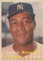 1957 Topps      082      Elston Howard