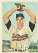 1957 Topps      106     Ray Moore