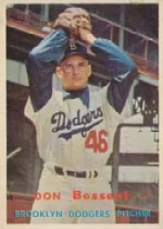 1957 Topps      178     Don Bessent