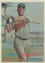 1957 Topps      225     Harry Simpson