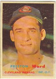 1957 Topps      226     Preston Ward
