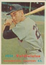 1957 Topps      246     Jose Valdivielso