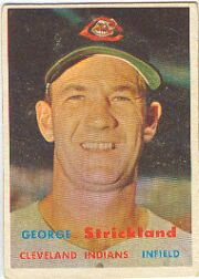 1957 Topps      263     George Strickland