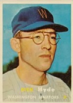 1957 Topps      403     Dick Hyde RC