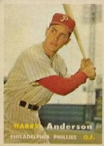 1957 Topps      404     Harry Anderson RC