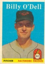 1958 Topps      084      Billy O'Dell