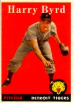 1958 Topps      154     Harry Byrd