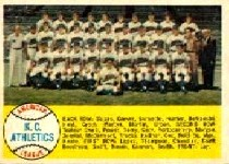 1958 Topps      174     Kansas City Athletics TC