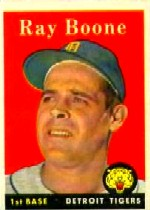 1958 Topps      185     Ray Boone