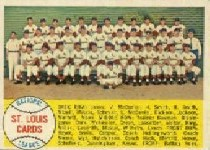 1958 Topps      216     St. Louis Cardinals TC
