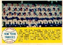 1958 Topps      246     New York Yankees TC