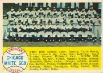 1958 Topps      256     Chicago White Sox TC