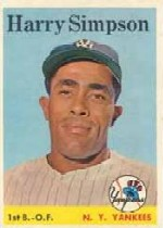 1958 Topps      299     Harry Simpson