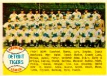 1958 Topps      397A    Detroit Tigers TC Alpha