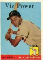 1958 Topps      406     Vic Power