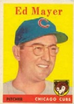 1958 Topps      461     Ed Mayer RC