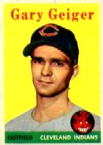 1958 Topps      462     Gary Geiger SP RC