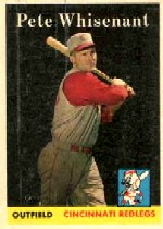 1958 Topps      466     Pete Whisenant