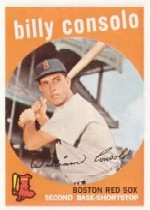 1959 Topps Baseball Cards      112     Billy Consolo