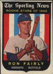 1959 Topps Baseball Cards      125     Ron Fairly RS RC