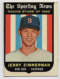 1959 Topps Baseball Cards      146     Jerry Zimmerman RS RC